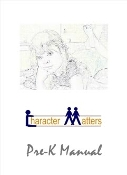 CHARACTER MATTERS® Pre-K Children's Text Book!