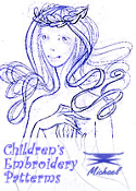 MICHAEL™ Children's Embroidery Patterns