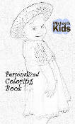 MICHAEL'S KIDS™ Personalized Coloring Book