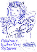 SWEETPEA™ Children's Embroidery Patterns