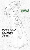 SWEETPEA™ Personalized Coloring Book