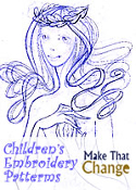 MAKE THAT CHANGE™ Children's Embroidery Patterns