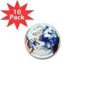 Heal The World Foundation® Mini Button (x10)