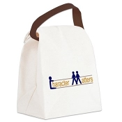 CHARACTER MATTERS® Canvas Lunch Bag