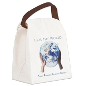 HEAL THE WORLD® Canvas Lunch Bag
