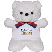 MAKE THAT CHANGE™ Teddy Bear