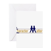 CHARACTER MATTERS® Greeting Cards