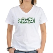 SWEETPEA™ Womens V-neck T-shirt