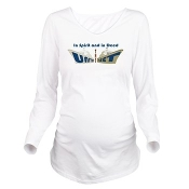 THE UNITED FLEET (TUF)™ Long Sleeve Maternity T-shirt