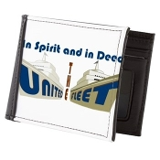 THE UNITED FLEET (TUF)™ Mens Wallet