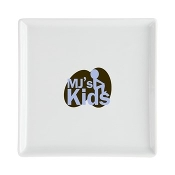 MJ'S KIDS™ Square Cocktail Plate