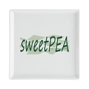 SWEETPEA™ Square Cocktail Plate
